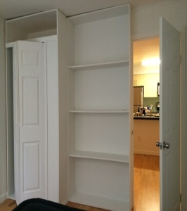 Bookcase Divider NYC - 1daywall